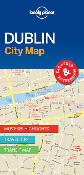 Dublin City Map Lonely Planet by Lonely Planet
