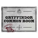 Tin Sign Small Harry Potter Common Room