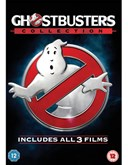 GHOSTBUSTERS TRIPLE BOX SET ORIGINAL FILMS and NEW 2016 FILM