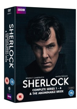 SHERLOCK SERIES 1TO4 AND ABOMINABLE BRIDE BOX SET