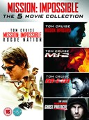 MISSIONIMPOSSIBLE I TO V DVD