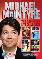 Michael Mcintyre Live Box set