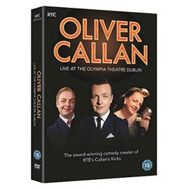 Callan Live At The Olympia Theatre Dublin DVD