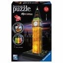 Big Ben with light 3D Puzzle  216pc