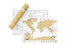 Luckies Scratch Map Travel Edition - White
