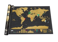 Scratch Map Deluxe - Black