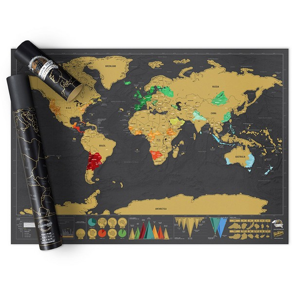 Scratch map deluxe travel edition personalised world gumiabroncs Choice Image