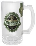 GUINNESS IRELAND TANKARD WITH BADGE COLOUR FILLED