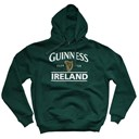 BOTTLE GREEN GUINNESS IRELANDCOTTON POLYESTER UNISEX HOODY XLARGE