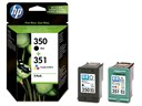 HP SD412EE Go 350 and 351 Multipack Ink