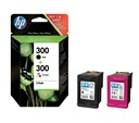 HP 300 Black and Colour Multipack Ink