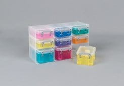 Really Useful 9 Box Organiser Trans Assorted
