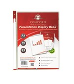 A4 40pkt Clear Presentation Display Book