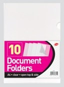Document Folders Top and Side 10 S