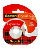 Scotch Crystal 19mm x 25m Dispenser Roll Carded