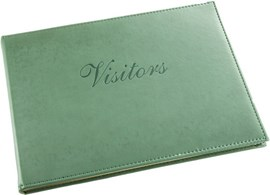Soft Touch Visitors Book Assorted