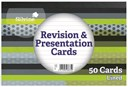 6x4   Pack 50 Revision Cards White   glue bound.