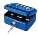 Cathedral 6 Inch Blue Cash Box