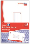 3 Pack Large Bubble Mailing Bag Owl Brand