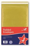 2 Pack Manilla Padded Envelopes - Size J / 9 Owl Brand