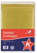 2 Pack Manilla Padded Envelopes - Size K / 10 Owl Brand