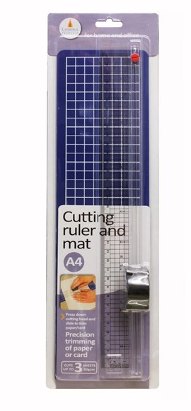 A4 Cutting Ruler With Mat
