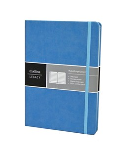 Collins A5  Light Blue Legacy Notebook
