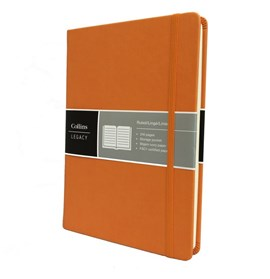 Collins Legacy A5 Notebook Orange
