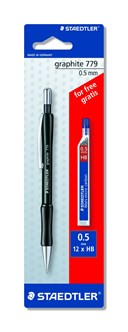 STAEDTLER Mechanical Pencil Blistercard with free Lead