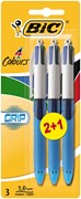 Bic 4-Colour 2+1 Grip Fashion