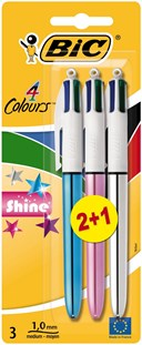 Bic 4-Colour 2+1 Shine