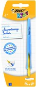 BIC KIDS BALL PEN BLUE CLICK SYSTEM CARDED