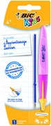 BIC KIDS BALL PEN & REFILL BLUE TWIST SYSTEM CARDED