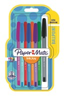 Paper Mate Inkjoy 100ST Medium Assorted Blister of 8