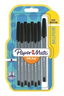 Paper Mate Inkjoy 100ST Medium Black Blister of 8