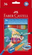 Faber-Castell Water-soluble pencils, box of 36