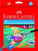 Faber Water Sol Pencils 48 Full Length