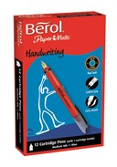 Berol Cartridge Pen Blue