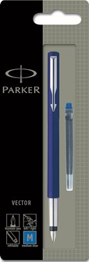Parker Vector Std Fountain Pen Blue