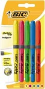 Bic Highlighter Grip ASS 5pk