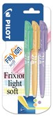 Frixion Light Soft Erasable Highlighter Triple Pack -Green/O