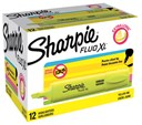 Sharpie Fluo XL Yellow Highlighter Loose