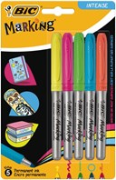 BIC Marking Colour assorted blister of 5