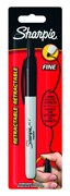 Sharpie Retractable Permanent Marker Fine Black (Blister of 1)