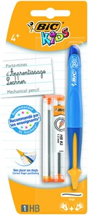 BIC KIDS LEARNER PENCIL & REFILL MECHANICAL CARDED