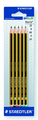Noris Pencils 5 Asstd Degrees