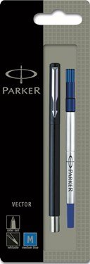 Parker Vector Std R/Ball Black