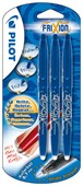 # Pilot Frixion Erasable Rollerball Medium Triple Pack Blue