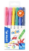 Wallet 6 Frixion Erasable Colouring Pens Assorted