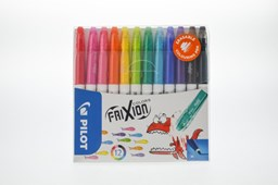 Wallet 12 Frixion Erasable Colouring Pens Assorted